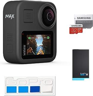 【GoPro公式限定】 GoPro MAX + 予備バッテリー + 認定SDカード32GB + GoPro公式限定非売品ステッカー【国内正規品】