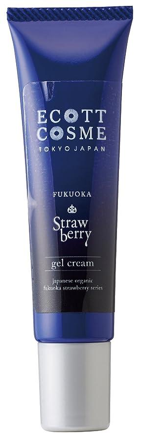 申し立て分割知覚エコットコスメ オーガニック ジェルクリーム(ややさっぱり) イチゴ?福岡県