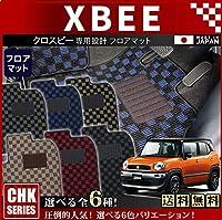 スズキ XBEE クロスビーフロアマット CHKマット H29/12~ MN71S 車1台分 フロアマット 純正 TYPE ダークグレー/ブラック