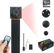 TOUGHSTY 16GB 1920x1080P HD Hidden Camera Button Mini DV Camcorder Motion Detection Security DVR Video Recorder�