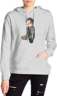 My Hero Academia Boku No Hero Todoroki Shoto Hoodies Sweatshirt Adult Pullovers for Women