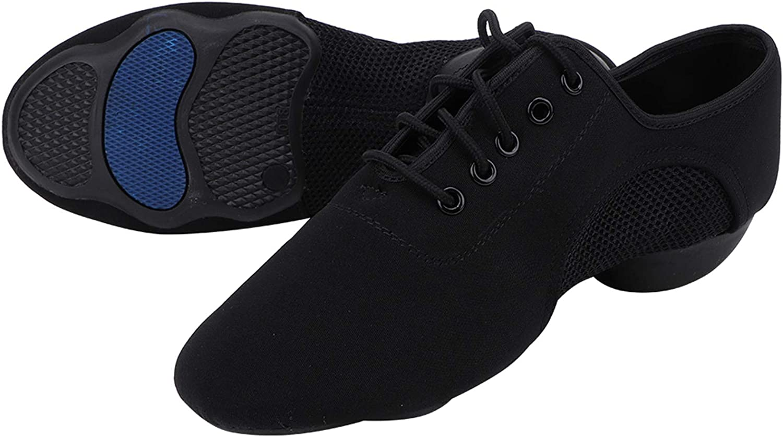 CUTULAMO Dance Shoe, Good Breathability Non Defrmation Dancing S