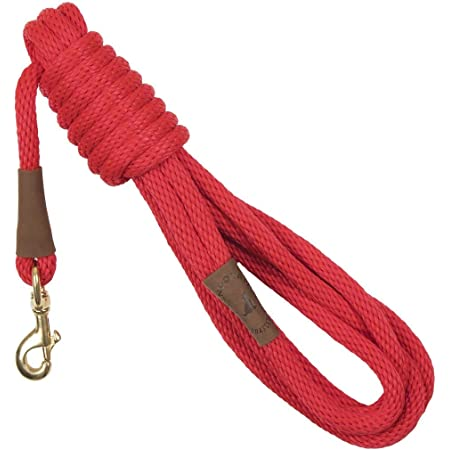 Mendota Pet Long Snap Leash - Dog Training Lead - Made in The USA