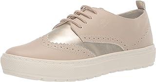 GEOX Womens D922QA.054AJ.C5379 Breeda 18 Wingtip Sneaker Shoe Bronze Size: