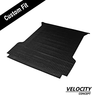 Silverado 5.5//5.8 HS Power Black Rubber Diamond Plate Truck Bed Trunk Floor Mat Carpet 07