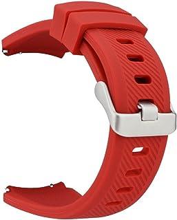 MroTech Correa Reloj 22mm Pulseras Bandas Goma Silicona