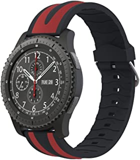 Watch Band,Cinhent New Quick Release Sport Soft Silicone for Samsung Gear S3 Frontier