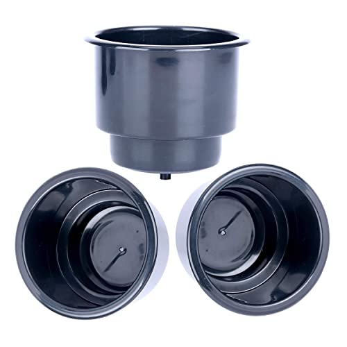 marine boat Stainless Steel Cup,Drink Holder cans bottles with drain utv