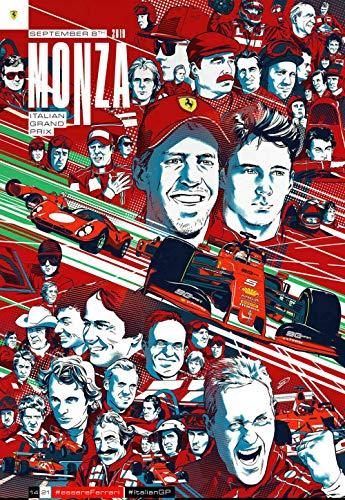 TTXD Puzzle 1000 Piezas Adultos,Ferrari F1 Italian,Rompecabezas de Madera, Juguetes intelectuales, desafiante...