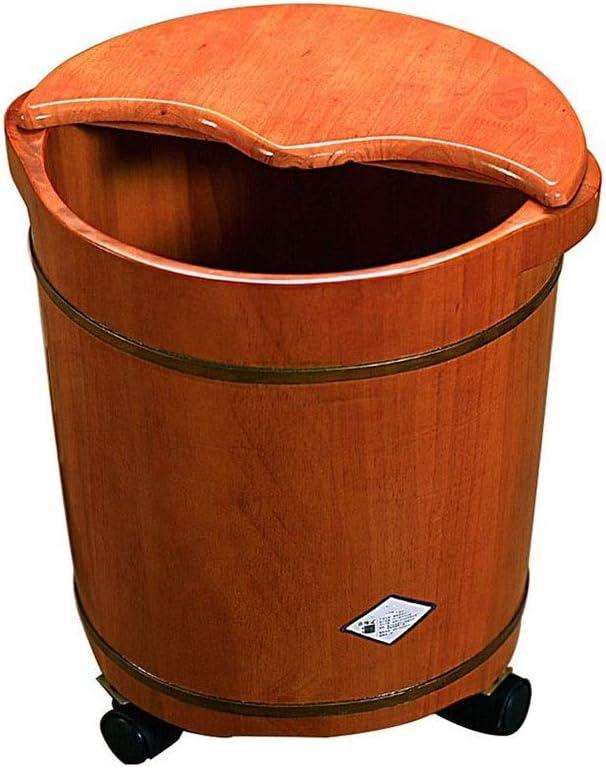 NCHEOI Wooden Foot Tub Solid Bath Mass 2021 Brand Cheap Sale Venue Spa Wood