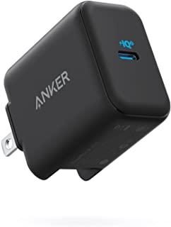 Anker PowerPort III 25W (PD 充電器 USB-C)【PSE技術基準適合/PowerIQ 3.0 (Gen2) 搭載 / PPS規格対応 / 折りたたみ式プラグ】iPhone 12 / 12 Pro iPad Air(第...