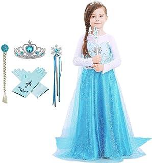 Girls Anna Frozen Fever Deluxe Dress Anna Dress Disney Princess Dress 97185