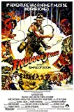 """Posters USA Indiana Jones and the Temple of Doom Movie Poster GLOSSY FINISH - MOV060 (24"""" x 36"""" (61cm x 91.5cm))"""