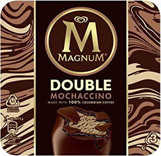 MAGNUM Double Mochaccino Multipack Ice Cream Stick - Frozen, 88 ml (Pack of 3),111019513