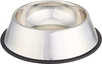 AmazonBasics Stainless Steel Dog Bowl