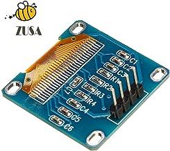 "Zusa 0.96"" Inch Blue I2c IIC Serial 128x64 OLED LCD LED Display Module for Arduino"