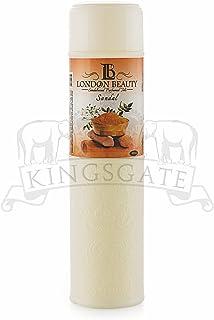 KINGSGATE ORIGINAL's Present's London Beauty Imperial Perfumed Talc for Women, 250g (SANDALWOOD)