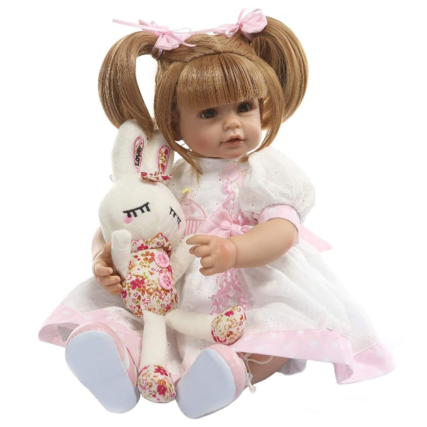 役に立つ経過複雑52cmリボーン人形ソフトリアルタッチシリコン幼児ベビードールキッズバースデークリスマスギフト人気