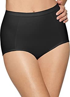 womens Seamless Brief With Tummy Panel Ultra Control 2-Pack(X245)-2 Black-L