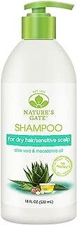 Natures Gates Moisturizing Shampoo with Aloe Vera, 18 oz