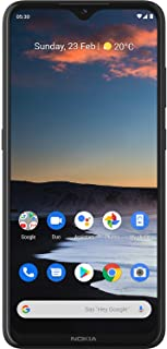 "NOKIA 5.3 Android Smartphone, 4GB RAM, 64GB Memory, 6.55"" HD+ screen, Quad Camera with AI Imaging - Charcoal"