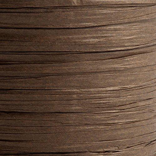 Bast-Band, Papier, 7mm Rolle, braun