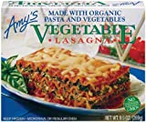 Amy's Vegetable Lasagna, Organic, 9.5-Ounce Boxes (Pack of 12)