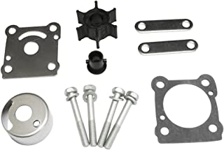 Full Power Plus Yamaha 6HP 8HP Outboard Motor Parts Water Pump Replacement Impeller Replacement Kit Sierra 18-3460 6N0-W0078-A0