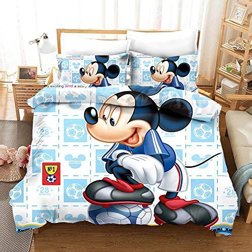 Ewdddea® Bettbezug 3D-Charakter Bettbezug...