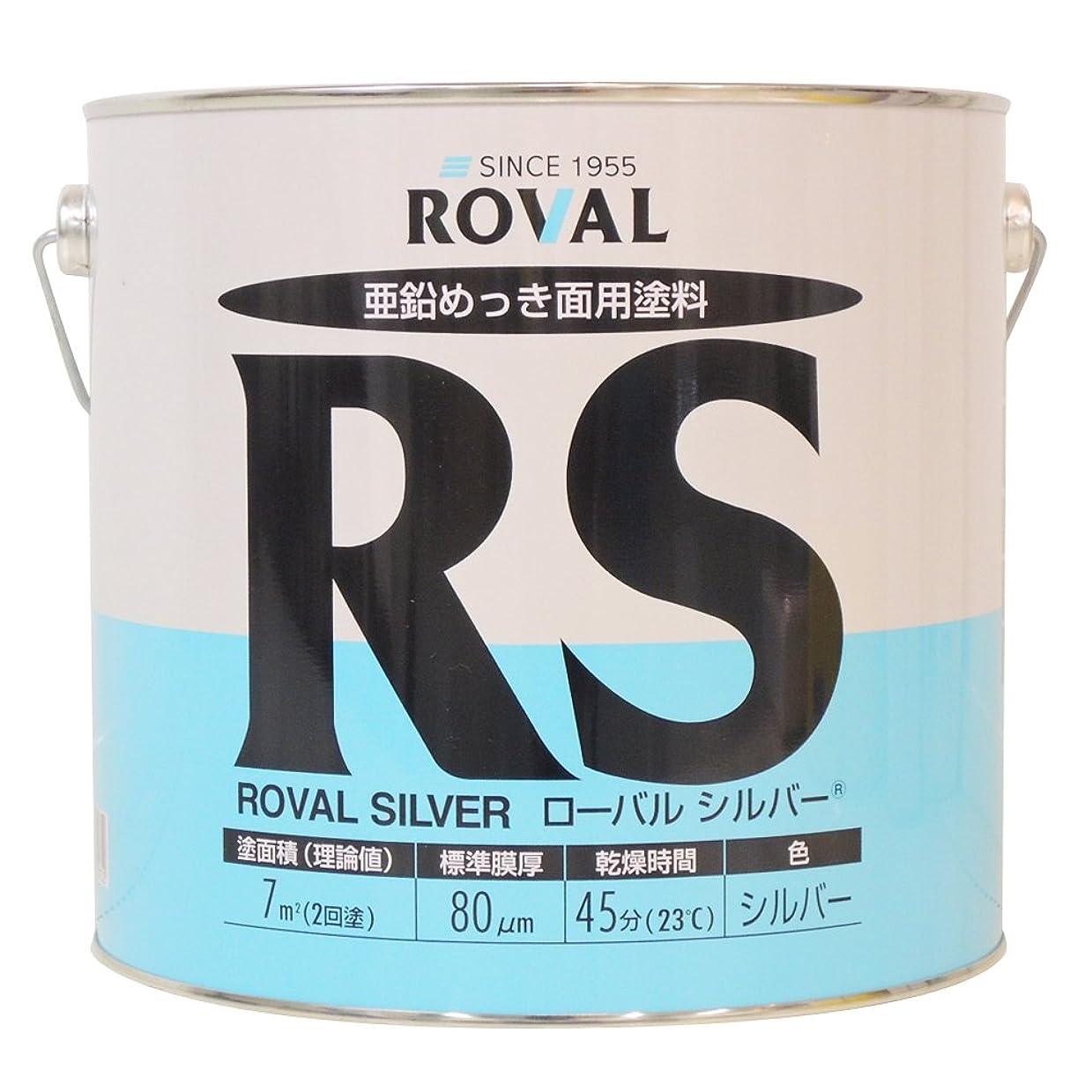 盲信一般的に補助金ROVAL シルバージンクリッチ ローバルシルバー RS-3.5KG 3.5kg
