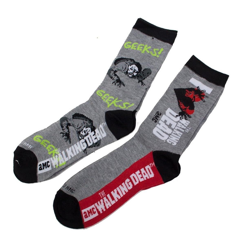 Walking Dead Ladies I Heart the Walking Dead Crew Socks Two Pack
