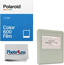 Polaroid Color Instant Film for 600 - Double Pack (16 Sheets) | Grey Album for Polaroid Instant Film