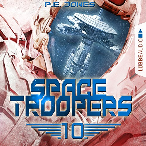 Ein riskanter Plan (Space Troopers 10) audiobook cover art