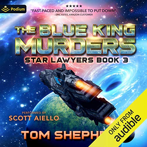 The Blue King Murders cover art