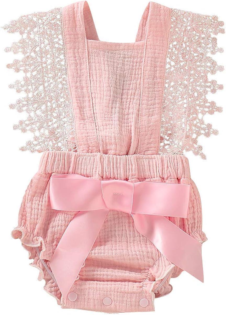 CM WODRO Newborn Baby Toddler B Sunflower Girls outlet Romper Alternative dealer Strap