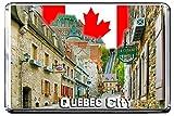 GIFTSCITY D74 QUEBEC CITY FRIDGE MAGNET CANADA TRAVEL PHOTO REFRIGERATOR MAGNET