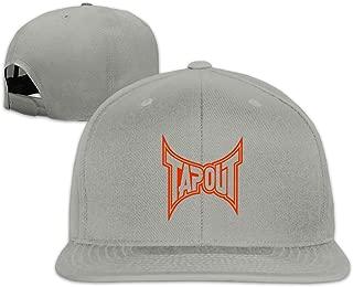 Womens Mens Vintage Adjustable Sun Hat Baseball Cap Tap Out Black Dad Mom Hat