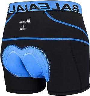 BALEAF Men Cycling Shorts Padded Underwear Bike Shorts 3D Padded Bicycle Underpants MTB Liner Mountain Shorts