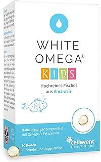Omega-3 Kapseln für Kinder – Vergleichssieger 2021 – 90 Mini-Kapseln – zuckerfrei..