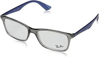 Ray-Ban Men's 0rx7047 No Polarization Rectangular Prescription Eyewear Frame