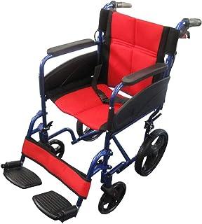 【非課税】Nice Way2(ナイスウェイ) 折りたたみ式 車椅子【座面幅約46cm】【ゆったりサイズ】【簡易式】【NW976LABJ】【介護・介助用】【介助ブレーキ付き】