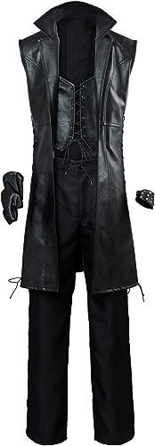 Tianxinxishop hombres mujeres Disfraz de Cosplay de Juego Uniforme de Dante negro V Nico Multi Versiones