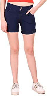 Girls Clubs Women's Regular Fit Denim Shorts