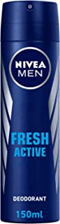 NIVEA, MEN, Deodorant, Fresh Active, Spray, 150ml