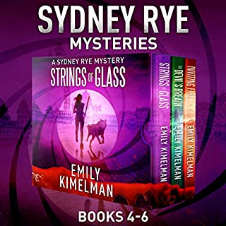 Sydney Rye Mystery Box Set, Books 4-6                   Written by:                                                                                                                                 Emily Kimelman                               Narrated by:                                                                                                                                 Sonja Field                      Length: 18 hrs and 37 mins     Not rated yet     Overall 0.0