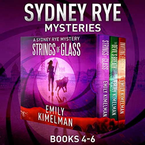 Sydney Rye Mystery Box Set, Books 4-6 audiobook cover art