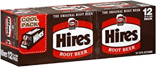 Hire's Root Beer 12 pack, 12-ounces (Pack of2)