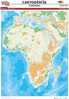 Amazon.es: mapa de africa fisico
