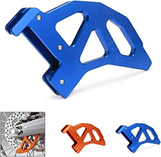 JFG RACING Blue CNC Aluminum Rear Disc Brake Cover Guard Protector For SX EXC XC XCW SXF XCF XCF-W EXC-F EXCR TE125 TE250 TE300 Husqvarna Motorcycle Dirt Pit Bike