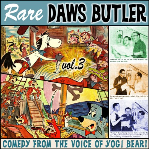 Rare Daws Butler, Volume 3 audiobook cover art